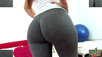 Cameltoe Latina Big Ass Gym