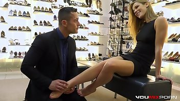 Shoes Cumshot Teen European
