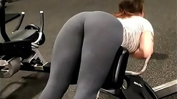 Spandex Teen Ass Brunette
