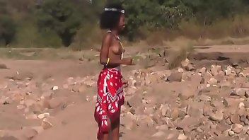South African Upskirt Topless African